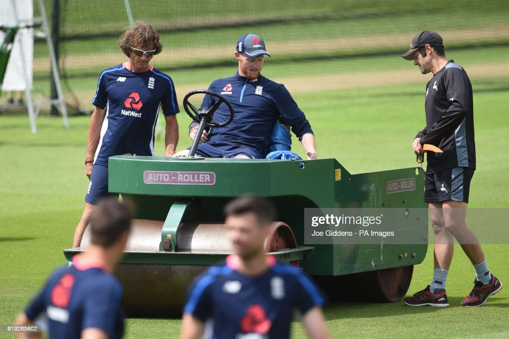 England and South Africa Nets Session - Day One - Trent Bridge : News Photo