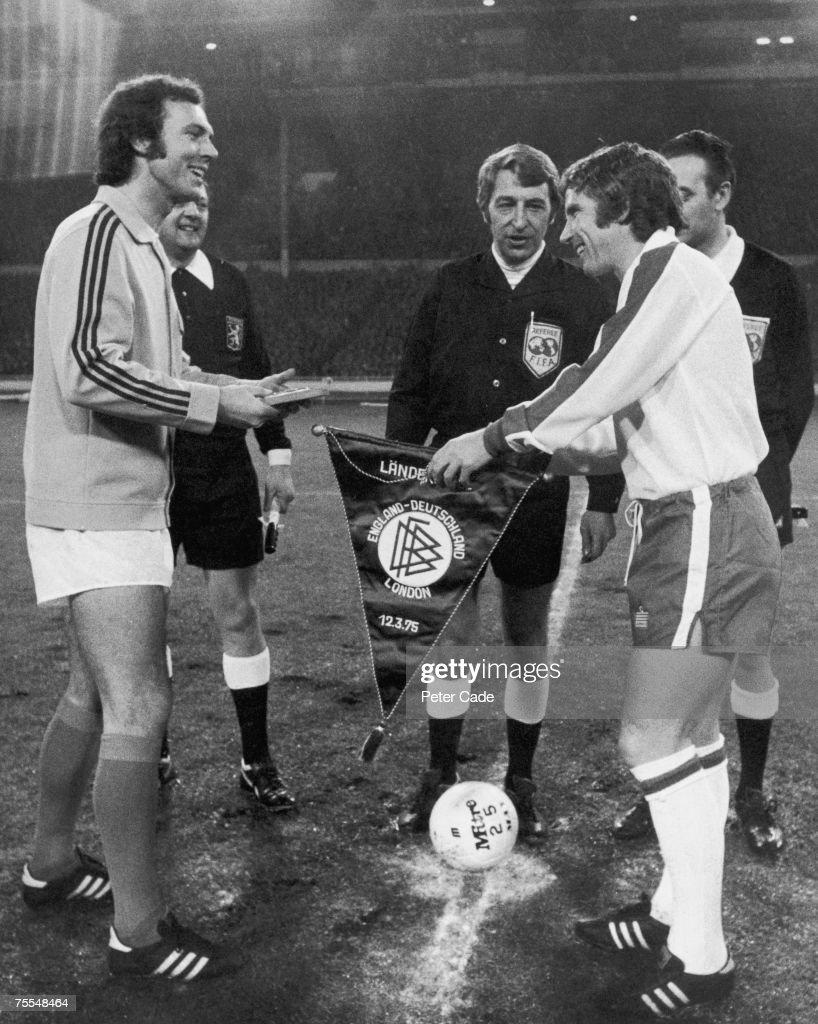 Ball And Beckenbauer : News Photo