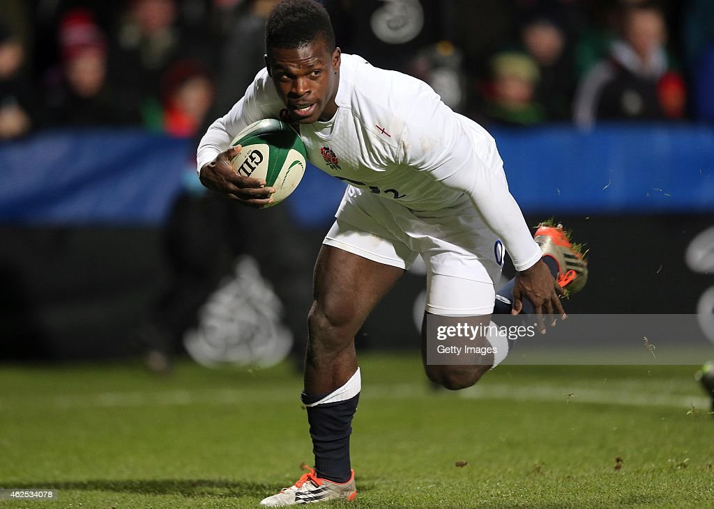 Ireland Wolfhounds v England Saxons : News Photo