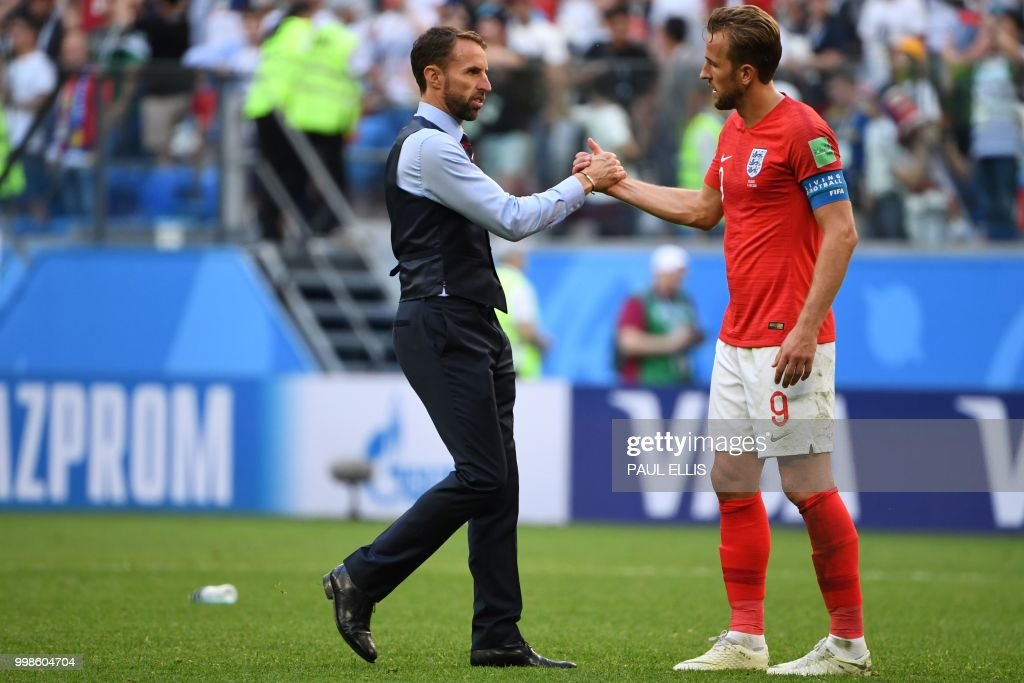 FBL-WC-2018-MATCH63-BEL-ENG : News Photo