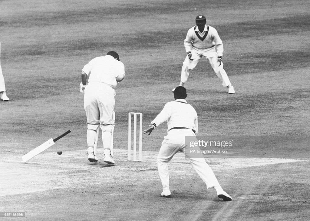 Cricket - The Wisden Trophy - Second Test - England v West Indies - Fourth Day : News Photo