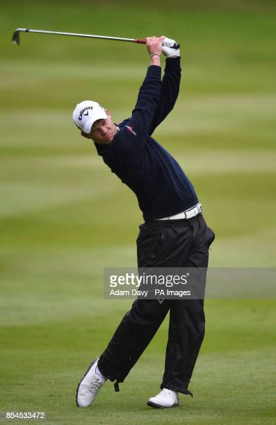 England's Danny Willet during day two of the BMW PGA Championship at the Wentworth Club Surrey