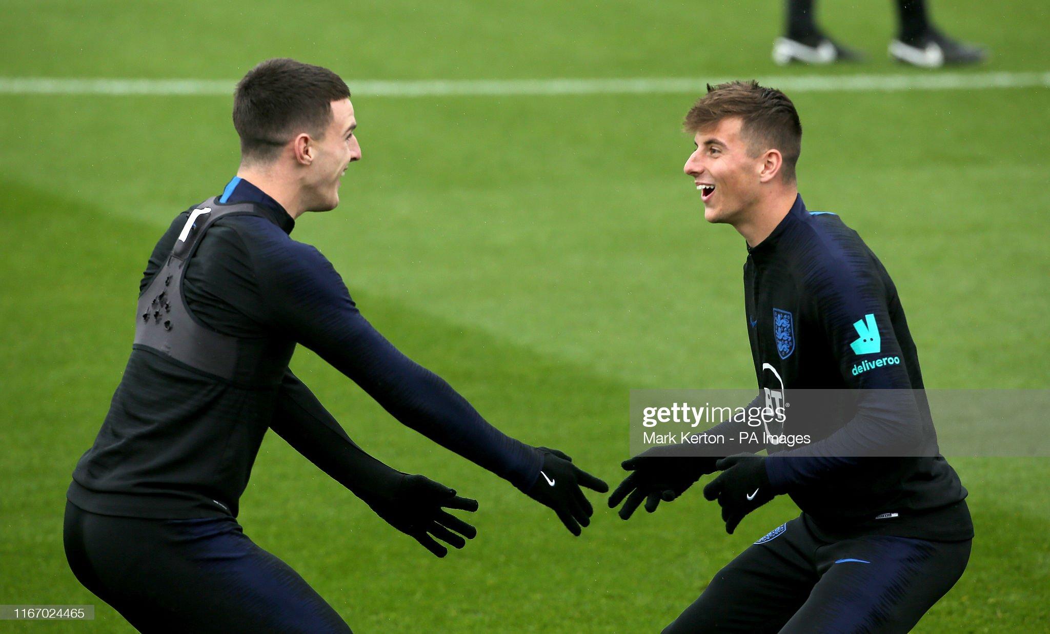 England Training Session - Southampton FC Training Ground : News Photo