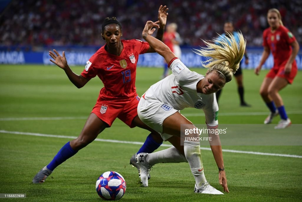TOPSHOT-FBL-WC-2019-WOMEN-MATCH49-ENG-USA : News Photo