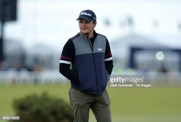 England's Eddie Pepperell during day four of the Alfred Dunhill Links Championship atSt Andrews Old Course Fife