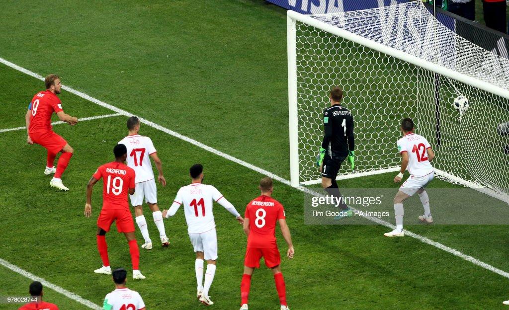 Tunisia v England - FIFA World Cup 2018 - Group G - Volgograd Arena : News Photo