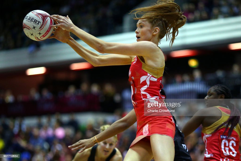 England v New Zealand - Netball Quad Series: Vitality Netball International