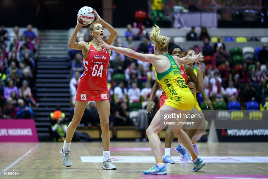 England v Australia - Netball Quad Series: Vitality Netball International