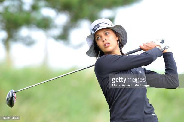 England's Henrietta Zuel during the fourth round of the Ricoh Women's British Open at the Royal Birkdale Golf Club Southport
