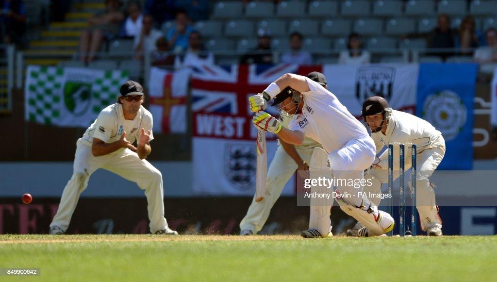 Cricket - Third Test - New Zealand v England - Day Five - Eden Park : News Photo