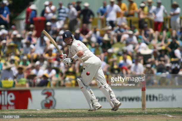 England's Ian Bell during the 3 Ashes Third Test Fourth Day at the WACA Ground in Perth Australia on December 17 2006