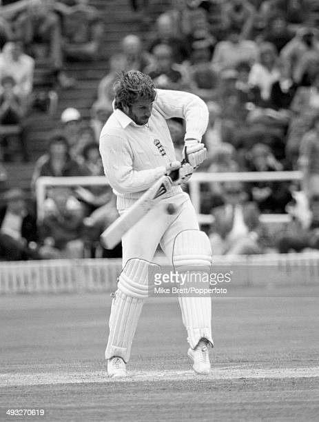 England's Ian Botham batting during his unbeaten innings of 149 runs which propelled England to an historic victory in the 3rd Test Match against...