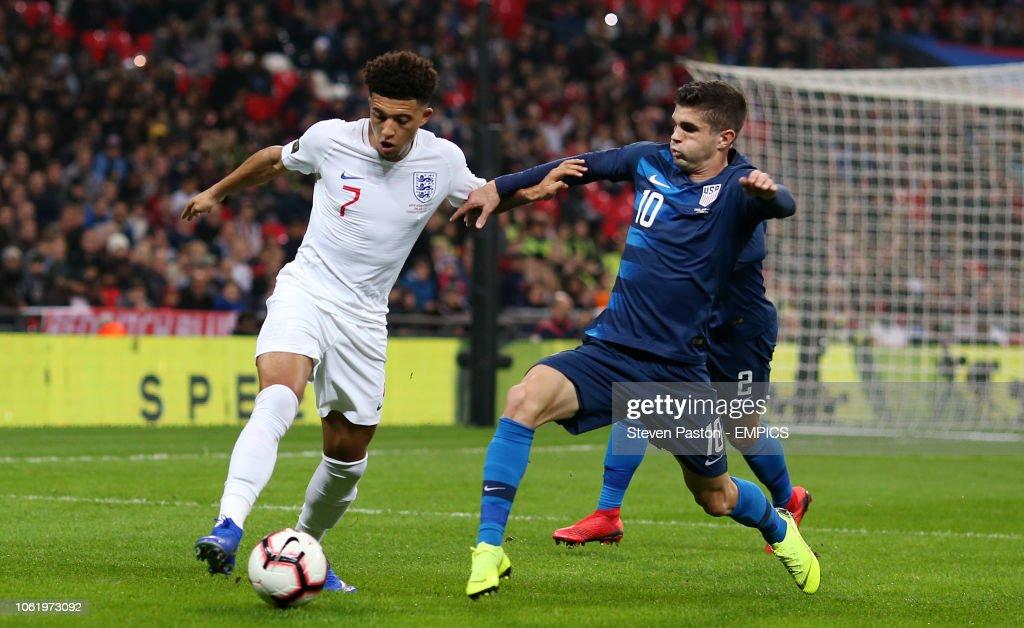 England v USA - International Friendly - Wembley Stadium : News Photo