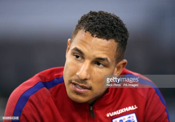 England's Jake Livermore during a press conference for the media day at St George's Park Burton upon Trent