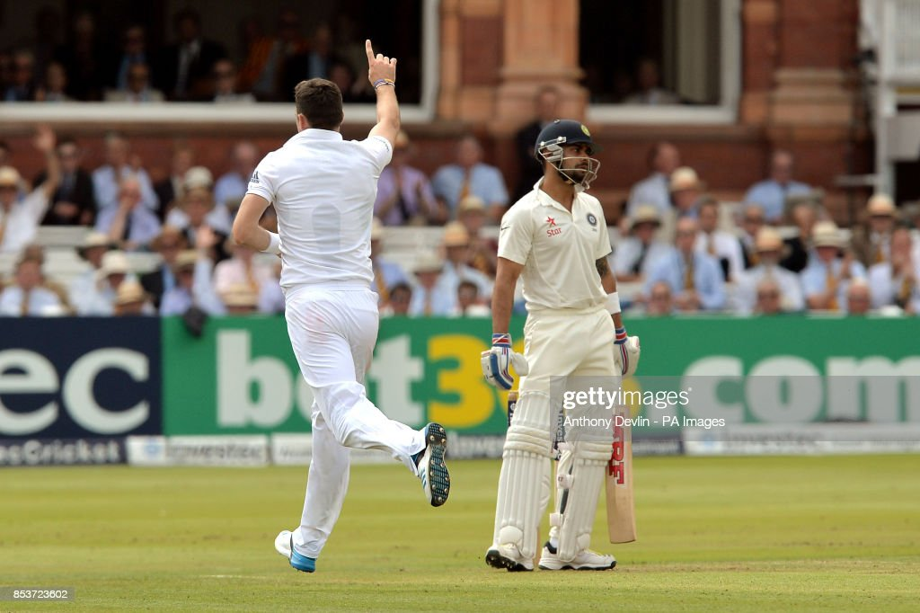 Cricket - Investec Test Series - Second Test - England v India - Day One - Lord's : News Photo
