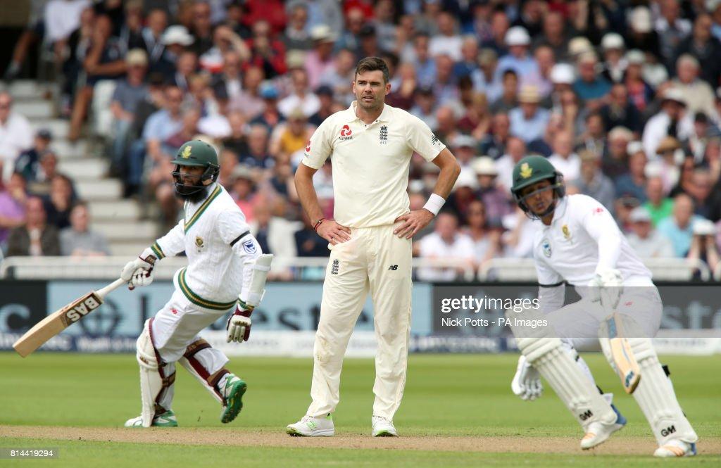 England v South Africa - Second Investec Test Match - Day One - Trent Bridge : News Photo