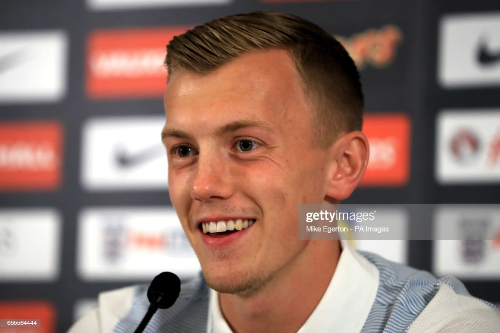 England's James Ward-Prowse during a media day at St George's Park, Burton.