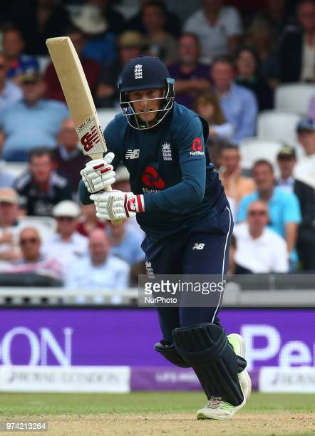 England's Joe Root during One Day International Series match between England and Australia at Kia Oval Ground London England on 13 June 2018