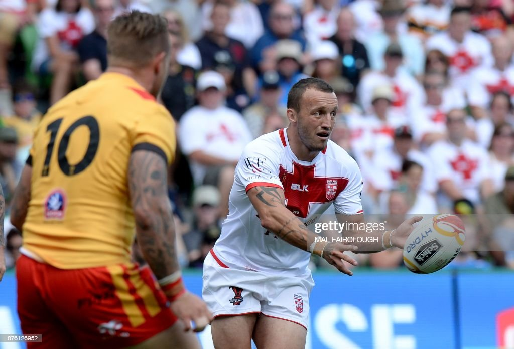 RUGBYL-WC-2017-PNG-ENG : News Photo
