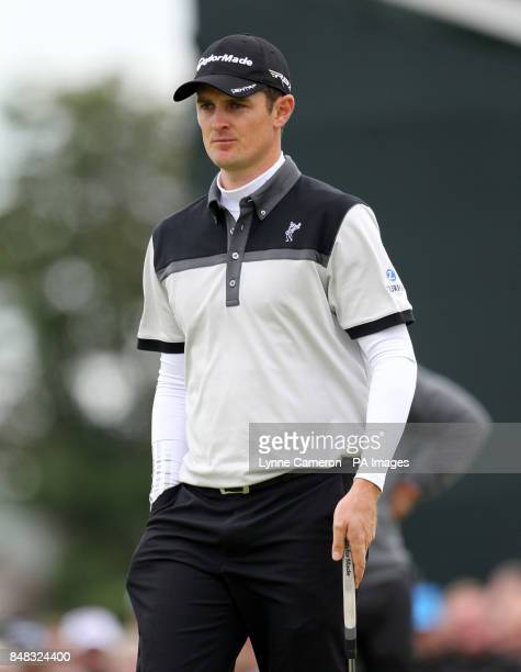 England's Justin Rose during day two of the 2012 Open Championship at Royal Lytham St Annes Golf Club Lytham St Annes