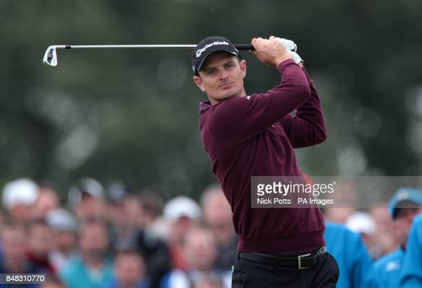 England's Justion Rose during day one of the 2012 Open Championship at Royal Lytham St Annes Golf Club Lytham St Annes