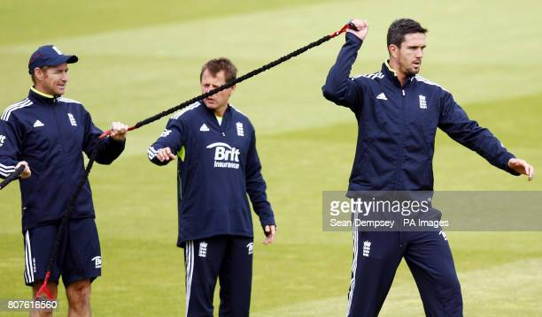 England's Kevin Pietersen during the practice session at Lord's Cricket Ground, London.