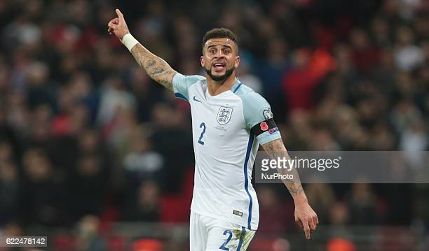 England's Kyle Walker during FIFA World Cup Qualifying European Region Group F match between England and Scotland at Wembley stadium 11 Nov 2016