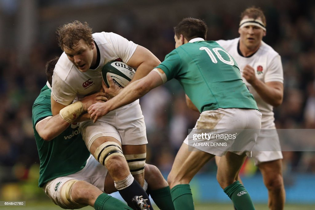 RUGBYU-6NATIONS-IRL-ENG : News Photo