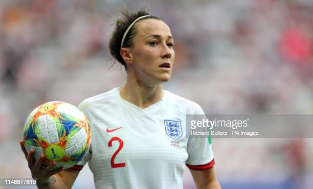 England's Lucy Bronze during the FIFA Women's World Cup Group D match at the Stade de Nice