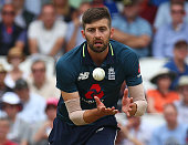 englands mark woodduring one day international