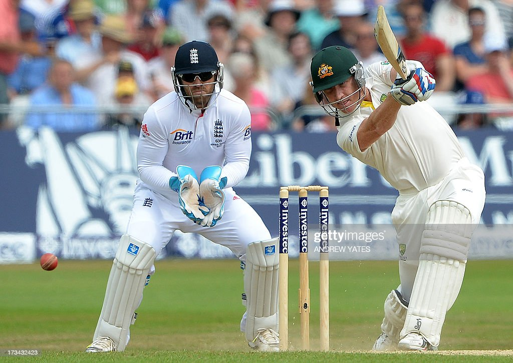 CRICKET-ENG-AUS-ASHES : News Photo
