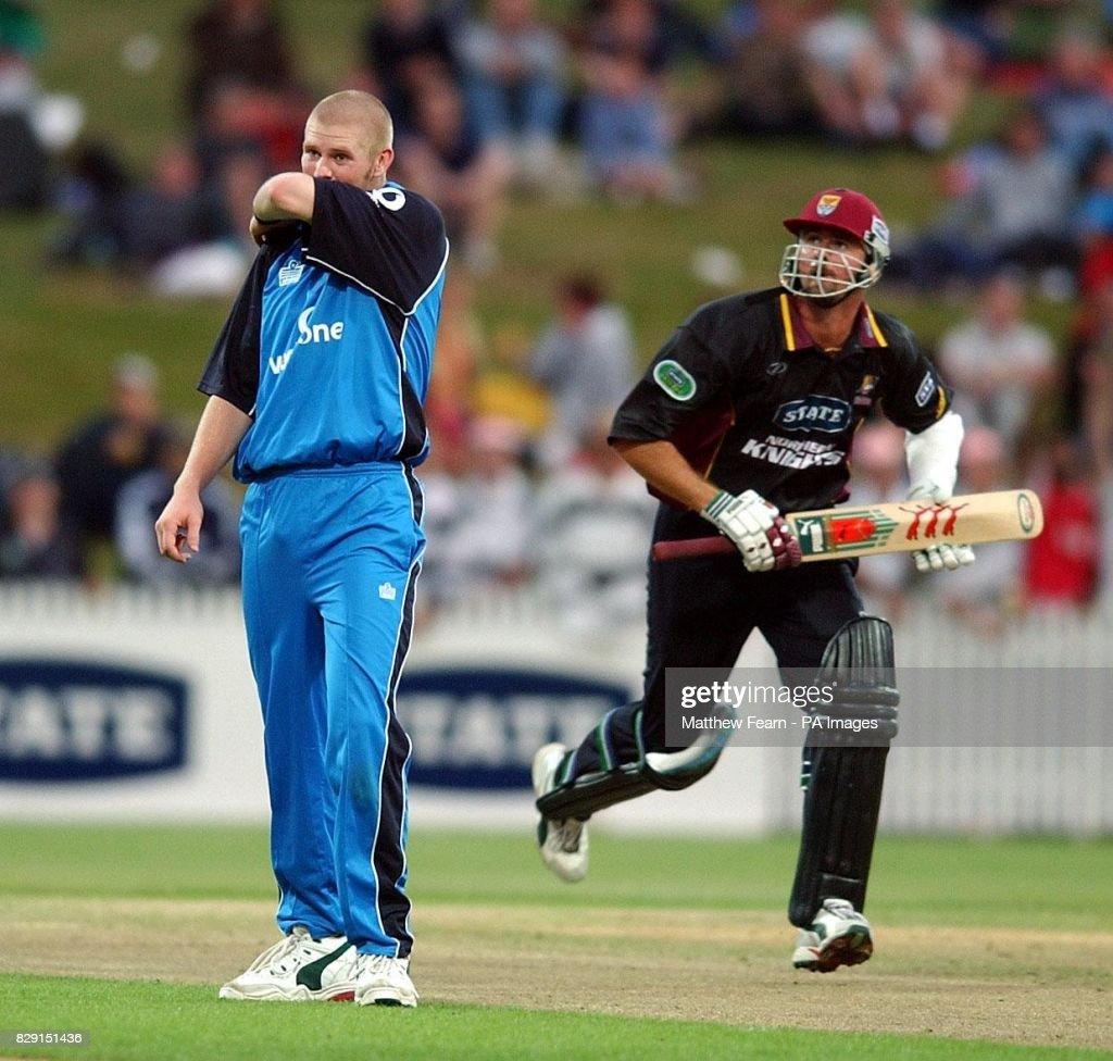 New Zealand v England Cricket : News Photo