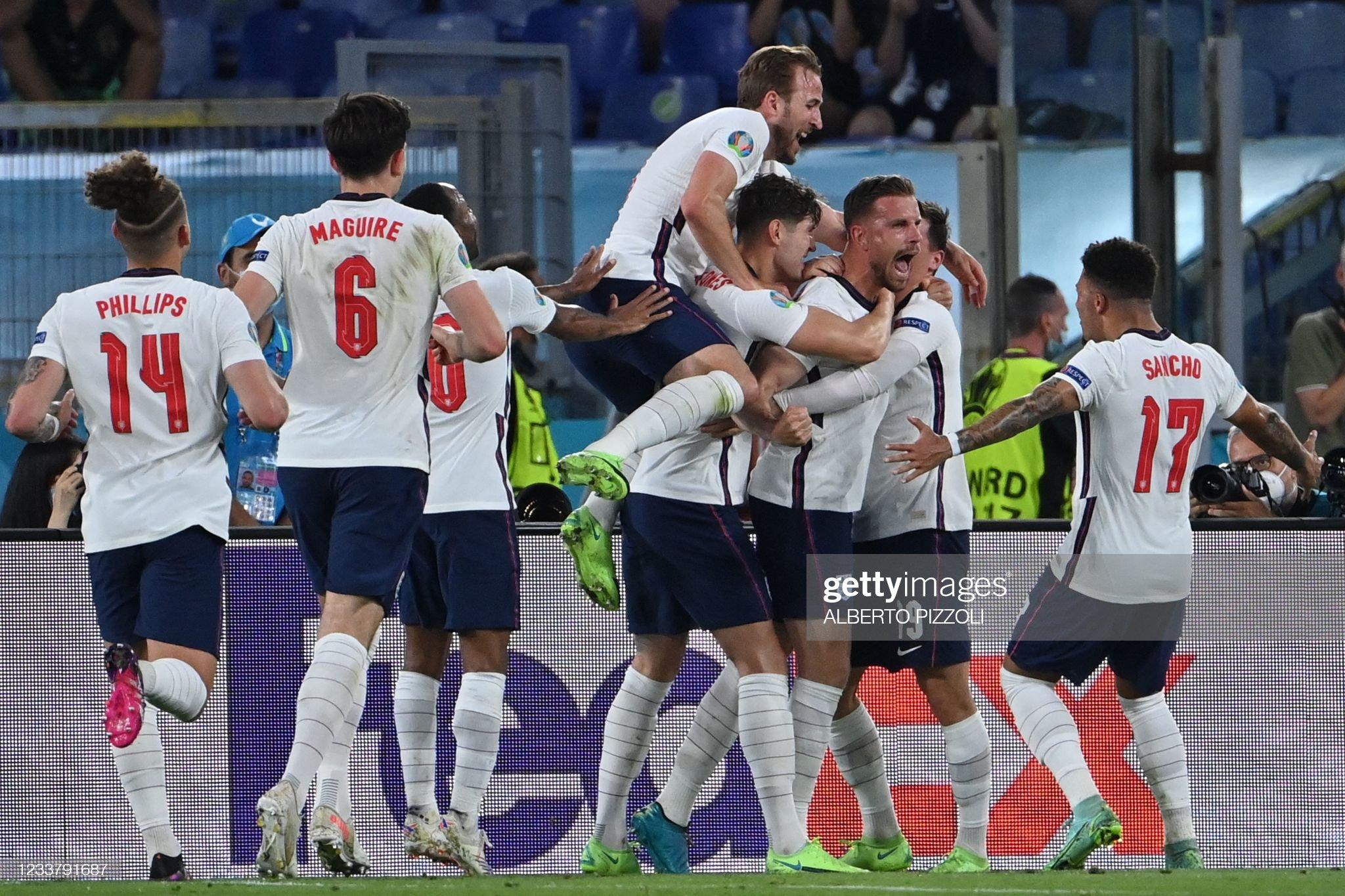 The Three Lions roar into Euro 2020 semi-finals