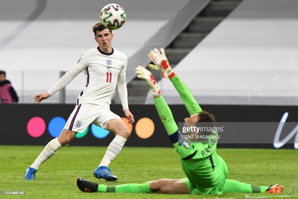 FBL-WC-2022-EUR-QUALIFIERS-ALB-ENG : News Photo