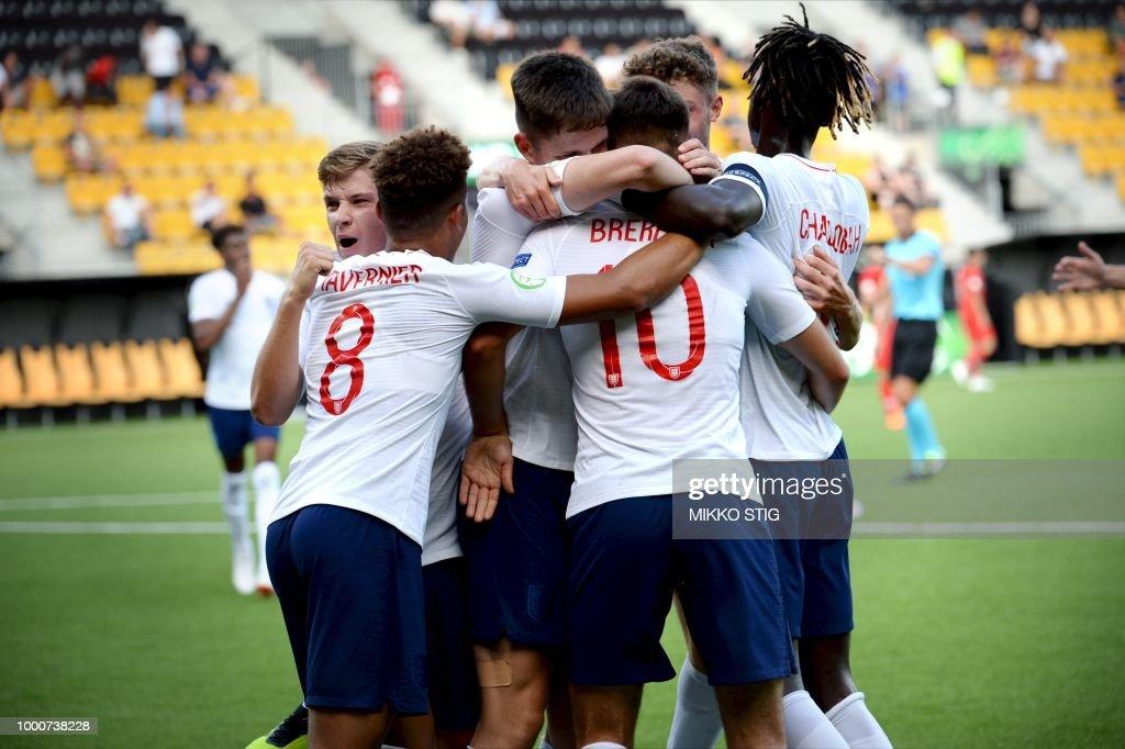FBL-EURO-U19-TUR-ENG : News Photo