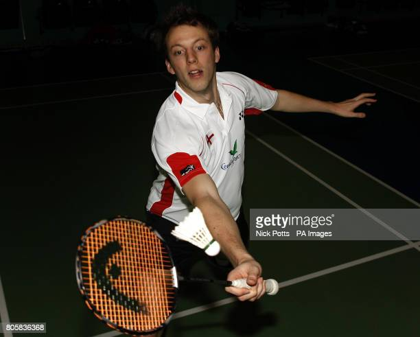 England's Robin Middleton during the photocall at the National Badminton Centre Milton Keynes