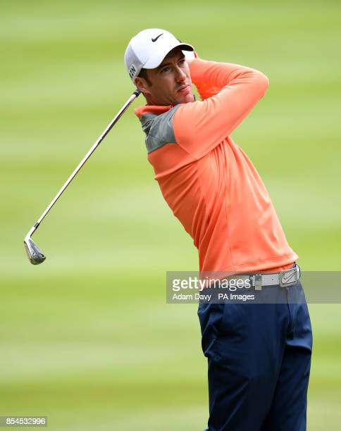 England's Ross Fisher during day two of the BMW PGA Championship at the Wentworth Club Surrey