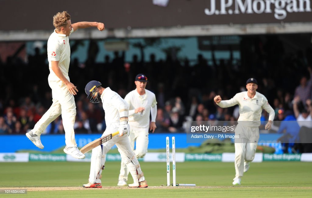 England v India - Specsavers Second Test - Day Two - Lord's : News Photo