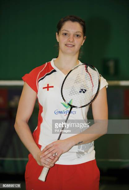 England's Sarah Walker during a photocall at the National Badminton Centre Milton Keynes