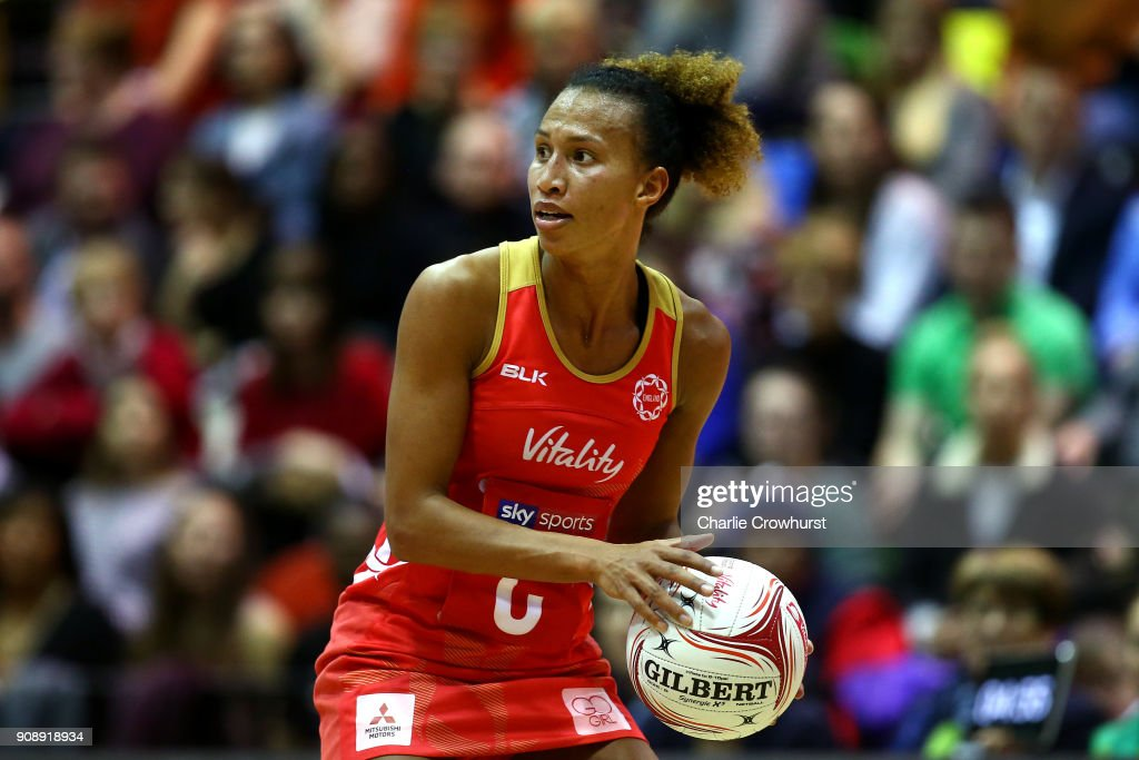 England v Australia - Netball Quad Series: Vitality Netball International : News Photo