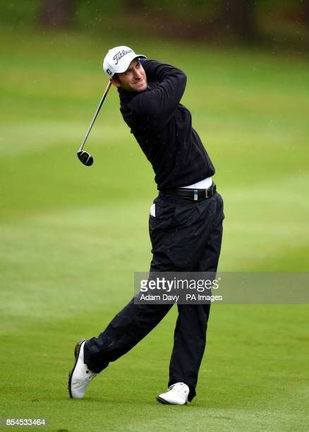 England's Seve Benson during day two of the BMW PGA Championship at the Wentworth Club Surrey