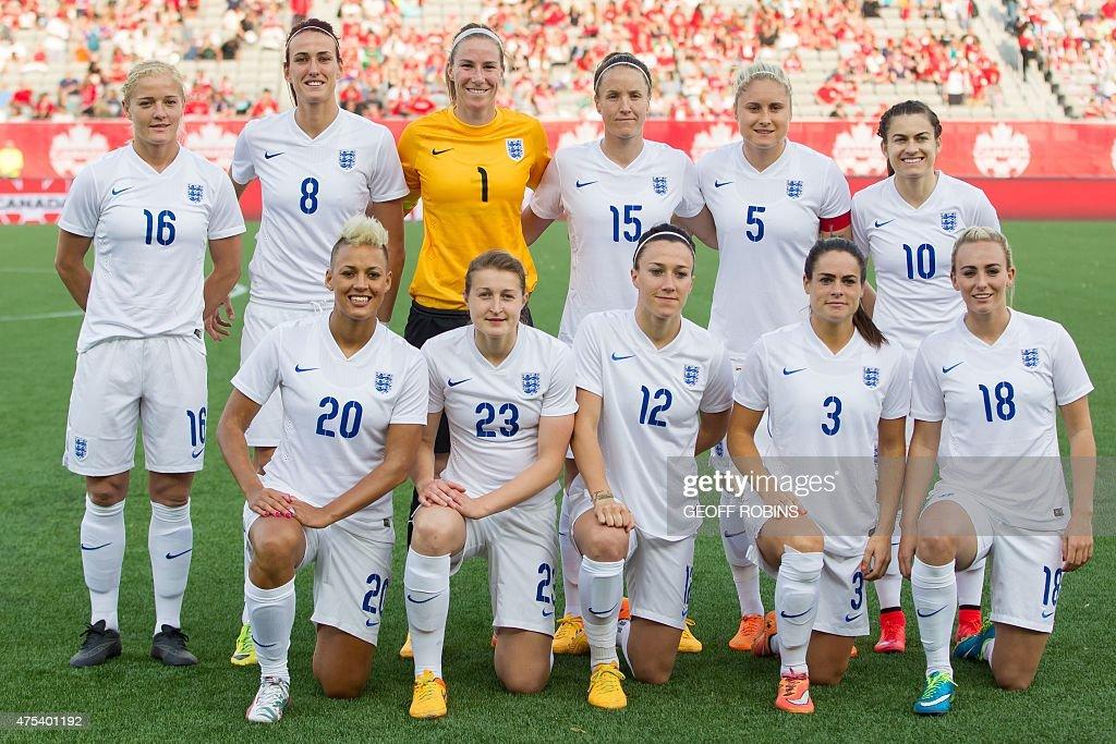 FBL-FIFA-WOMEN-WC-CAN-GBR : News Photo