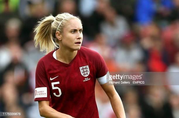 England's Steph Houghton England Women v Brazil Women - International Friendly - Riverside Stadium .