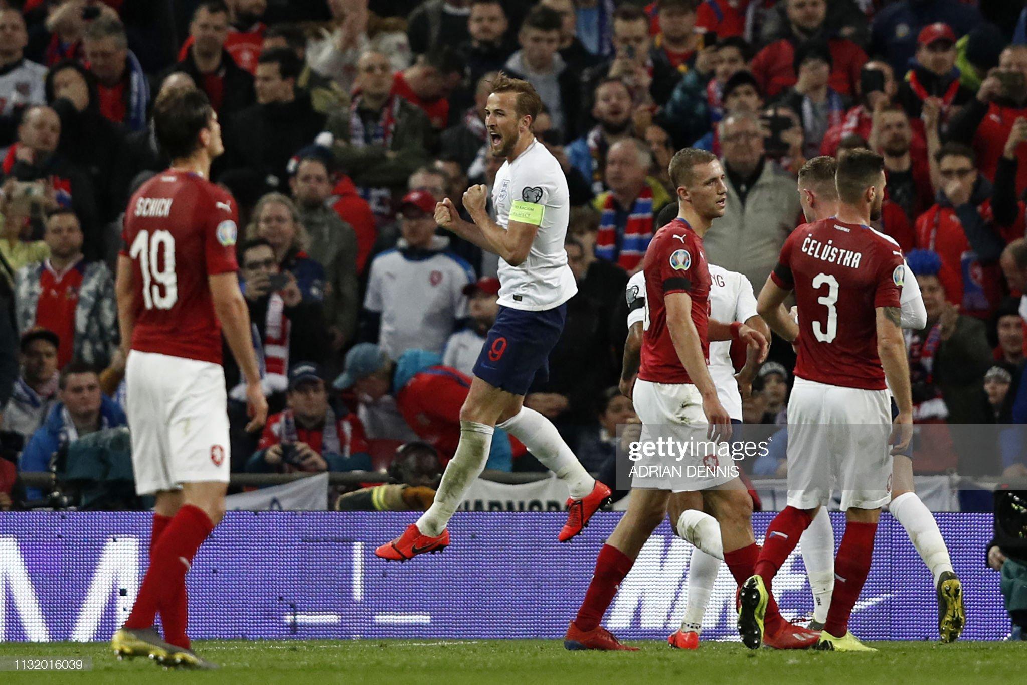 FBL-EURO-2020-QUALIFIER-ENG-CZE : News Photo