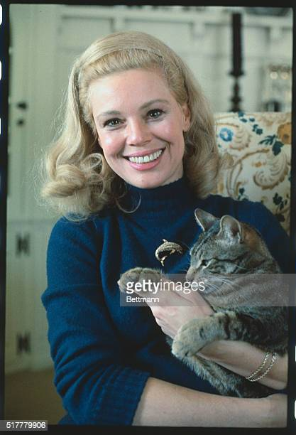 Englewood New Jersey Closeups Actress Betsy Palmer currently starring in the Broadway show Cactus Flower at her home