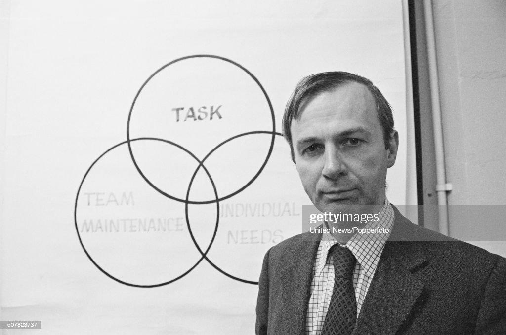 Professor John Adair : News Photo