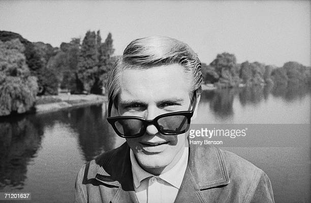 English actor Adam Faith during the location shoot of Gilbert Gunn's 'What A Whopper' 1961