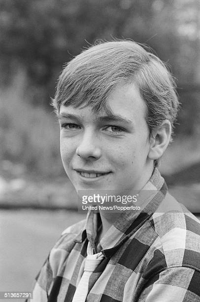 English actor Adam Woodyatt who plays the character Ian Beale in the BBC television soap opera EastEnders posed on the Albert Square set in Elstree...