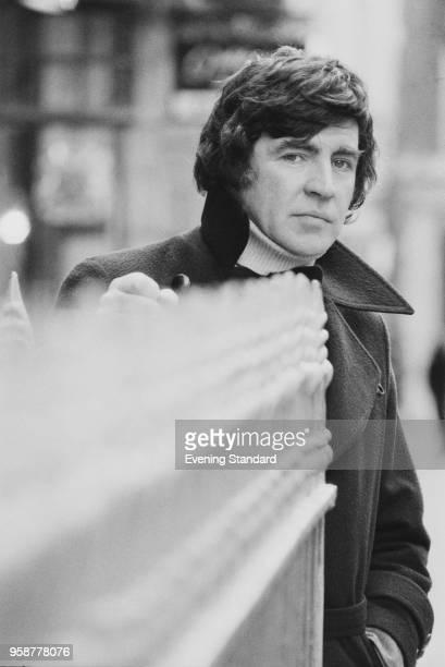 English actor Alan Bates UK 27th January 1978