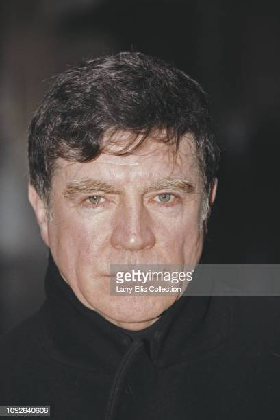English actor Alan Bates who stars in '102 Boulevard Haussmann' a television biopic of Marcel Proust pictured in 1991